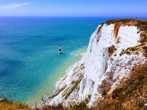 seven sisters lighthouse cliff