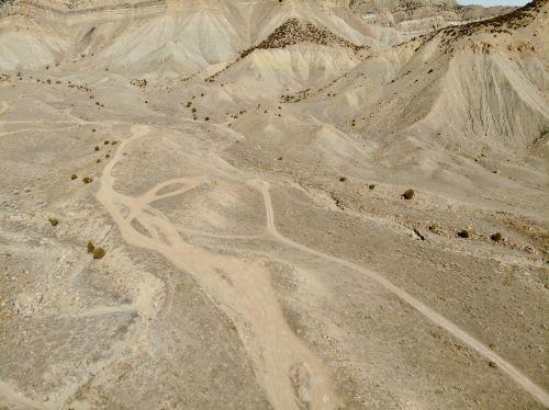 Several Colorado Desert Roads