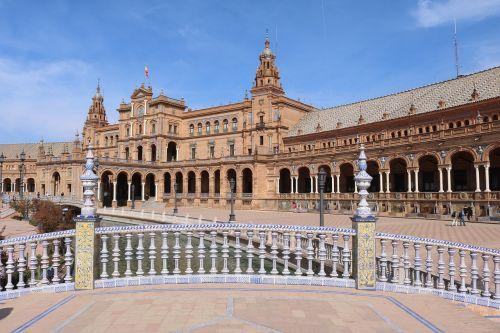 seville plaza de españa places of interest