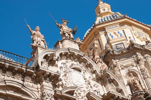 seville streets architecture