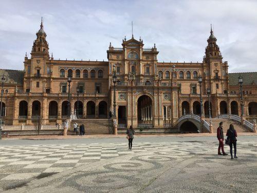 seville plaza de espana journey