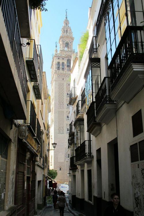 seville spain minaret