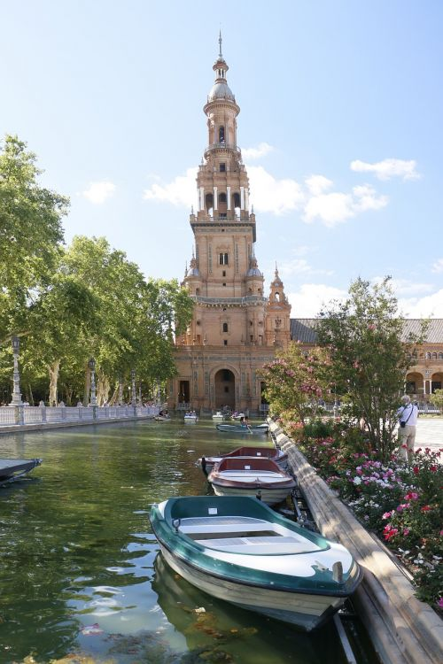 seville plaza españa barca