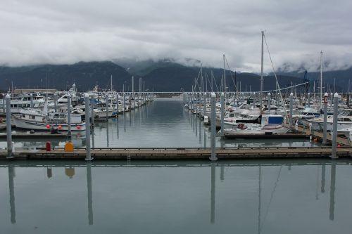 seward marina alaska boats