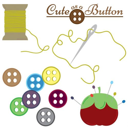 sewing buttons thread