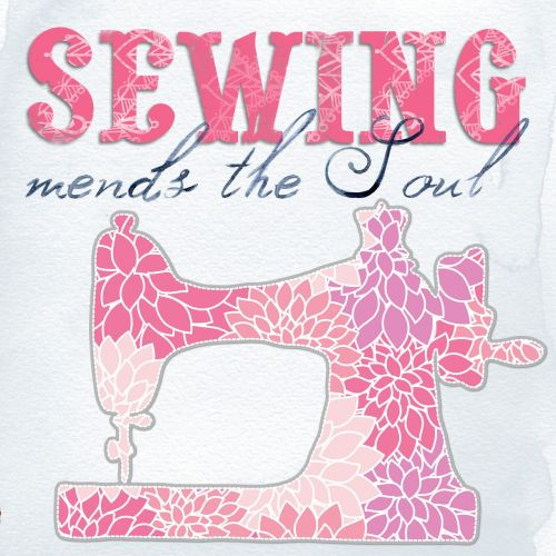 sewing collage art
