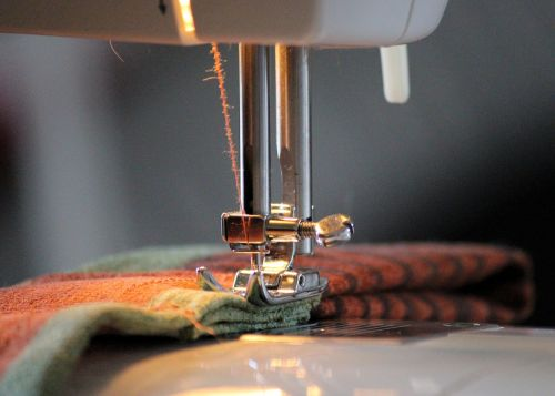 sewing machine foot yarn