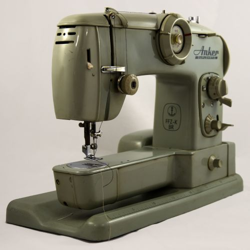 sewing machine anchor hand labor