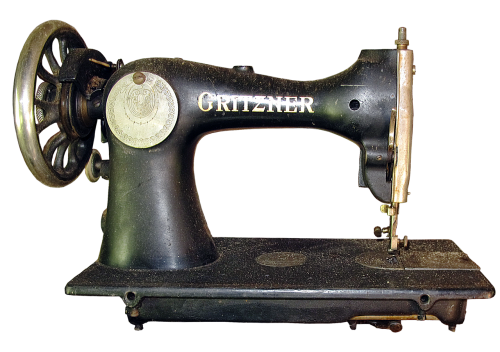 sewing machine historically antique