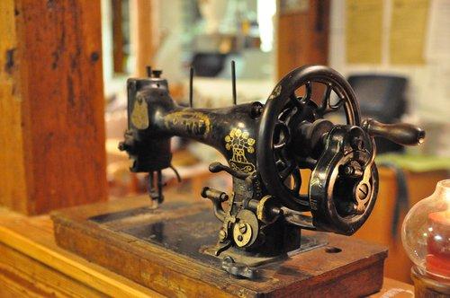 sewing machine  oldtimer  rarity