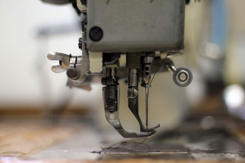 sewing machine clothing commercial