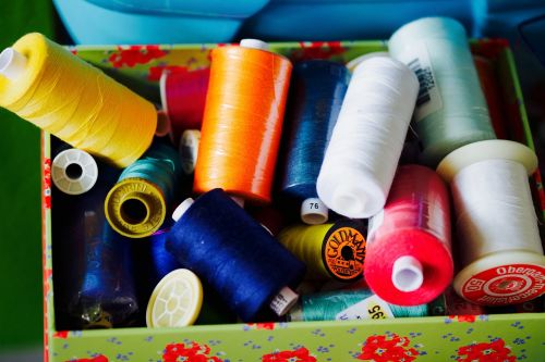 sewing thread sew hobby