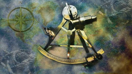 sextant navigation points of the compass