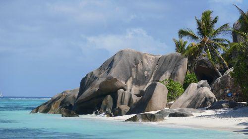 seychelles beach sea
