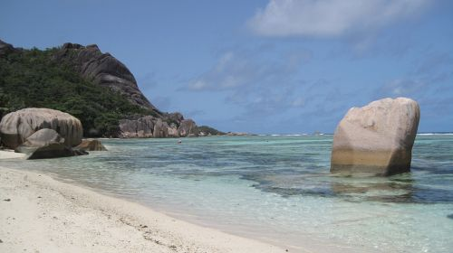 seychelles beach indian ocean