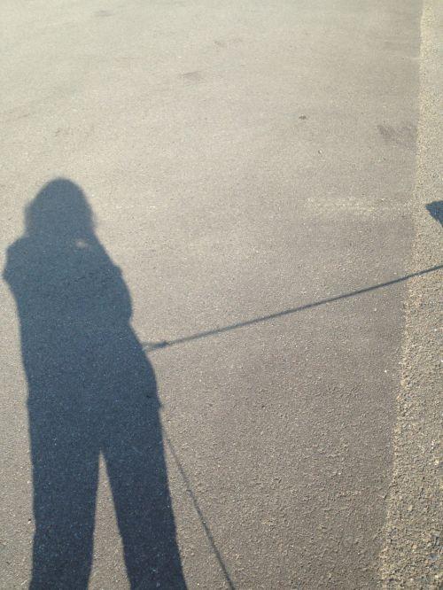 šviesa, tamsi, šešėlis, asmuo, saulėtas, siluetas, priemiesčiuose, šešėlis