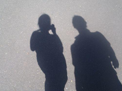 shadow human lichtspiel