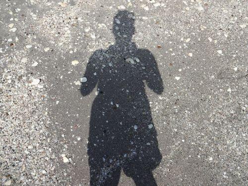 shadow sand woman