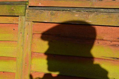 šešėlis, galva, siluetas, fonas, tvora, mediena, vyras, galvos šešėlis