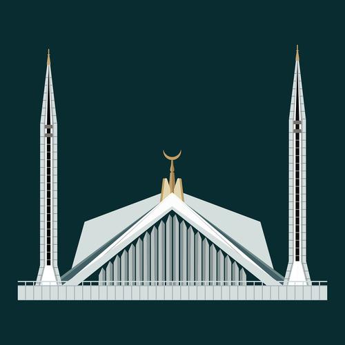 shah faisal masjid  islamabad  pakistan