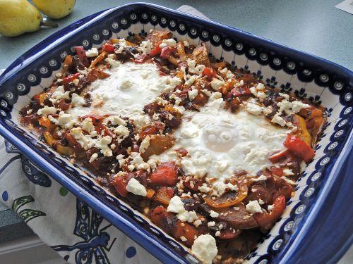 shakshuka casserole food