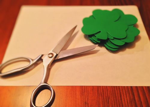 shamrock green clover