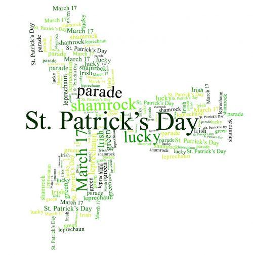 shamrock st patricks day green