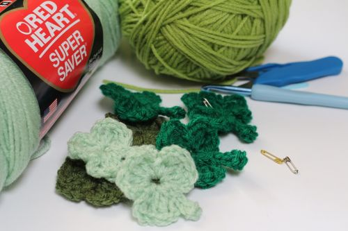 shamrock green crochet