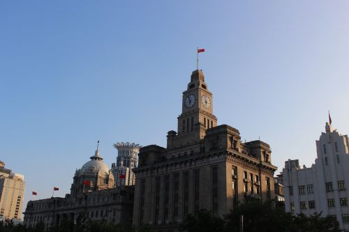 shanghai clock clock tower