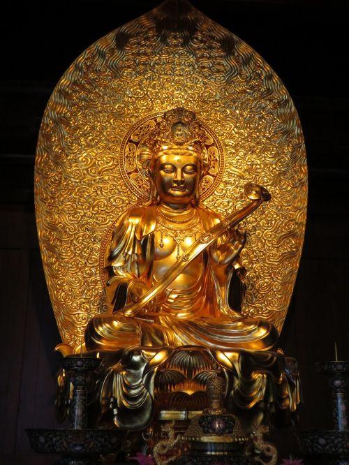 shanghai temple buddha