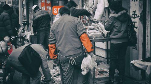 shanghai market trade