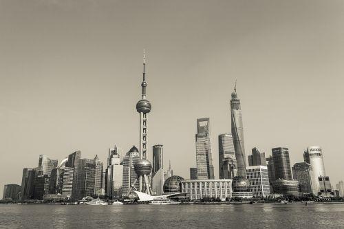 shanghai skyscrapers business