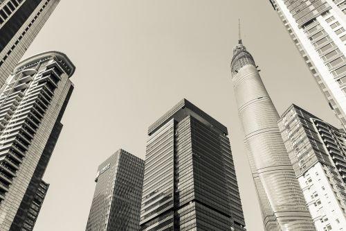 shanghai skyscrapers architecture