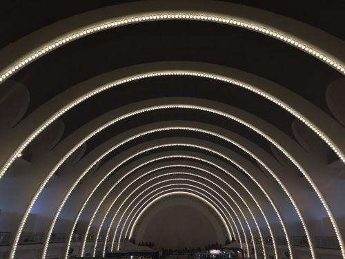 shanghai exhibition center auditorium curved dome