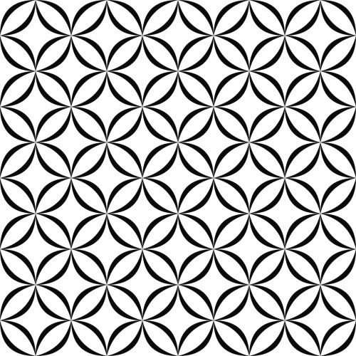 shape decoration lattice