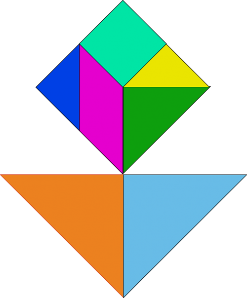 shapes puzzle chinese