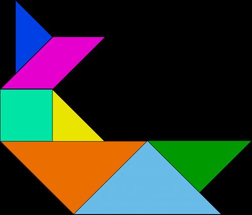 shapes tangram chinese