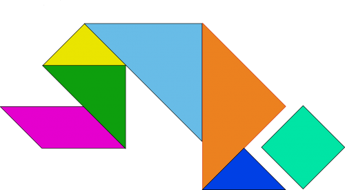 shapes game chinese
