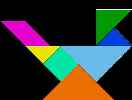 shapes bird puzzle