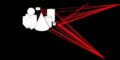 shapes outlined design