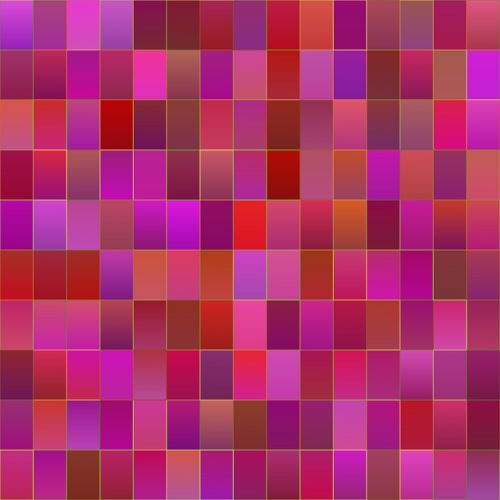 shapes abstract pink