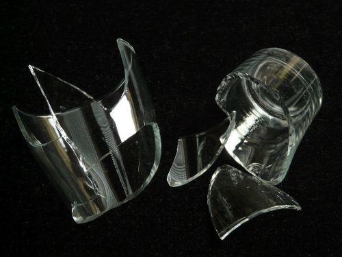 shard broken glass glass