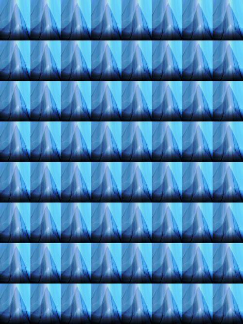 Shark's Tooth Shape Wallpaper