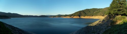 shasta lake lake blue