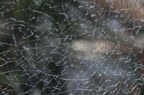 shattered glass texture broken