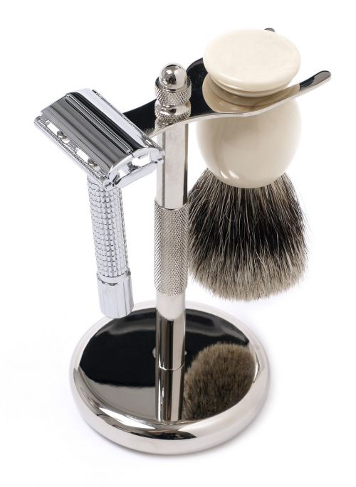 shaving set shaving brush razor