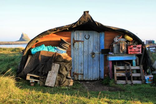 shed hut old