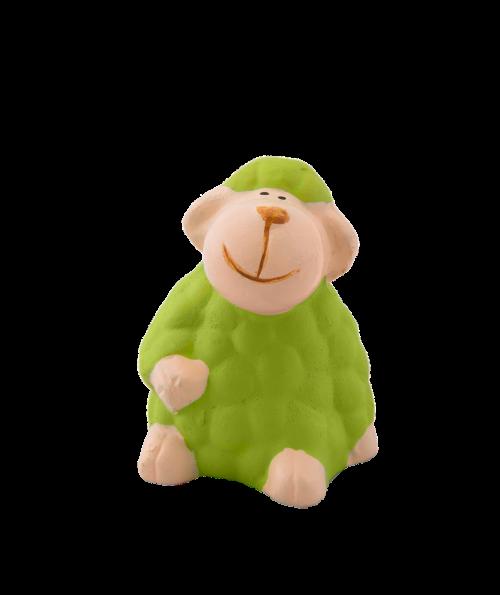 avys,apdaila,izoliuotas,molio figūra,žalias