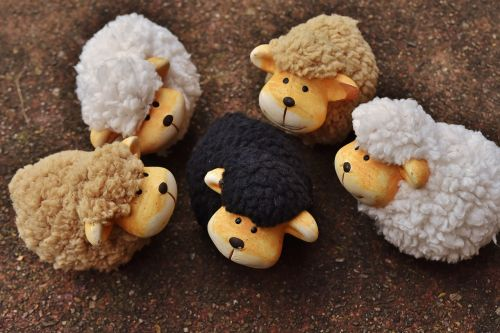 sheep animals deco