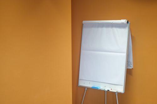 sheet paper flip chart